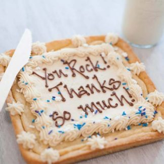 CookieText cookie cake